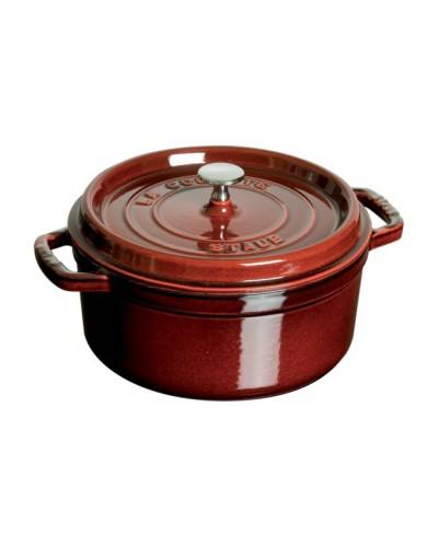 Cocotte staub ronde fonte grenadine paris france - Cocotte ronde en fonte ...