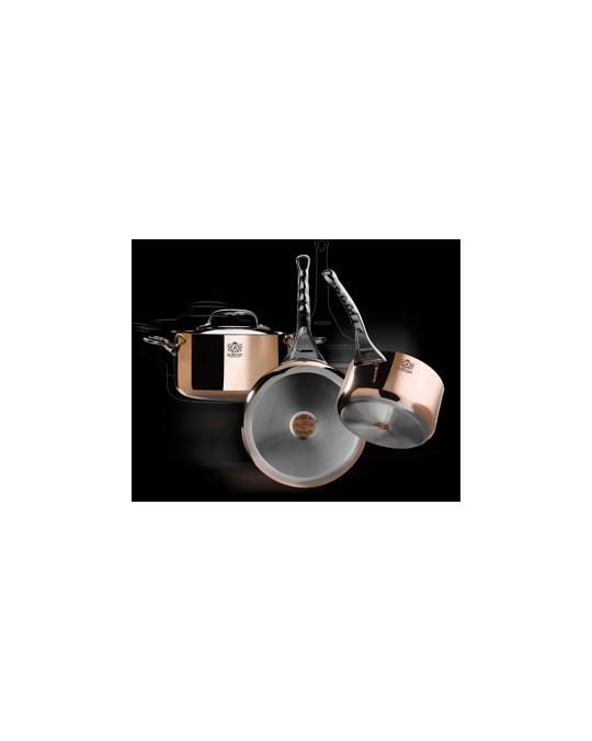 casserole en cuivre pour plaque induction 14 16 18 20 24 cm de buyer prima matera bellynck. Black Bedroom Furniture Sets. Home Design Ideas