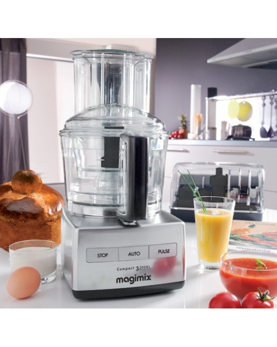 Robot multifonction compact 3200 xl magimix pour p trir for Robot de cuisine mix compact