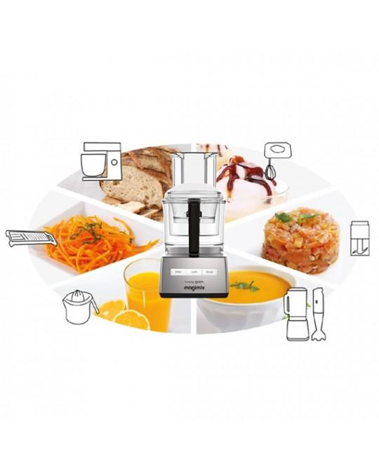 Robot multifonction cuisine syst me 5200 xl magimix pour for Robot de cuisine magimix