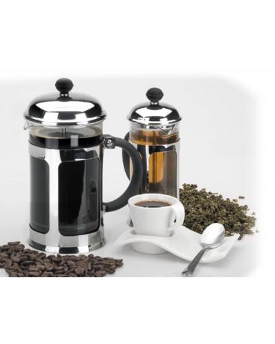 CAFETIÈRE EN VERRE ET INOX 6 TASSES