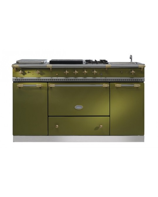 Fourneau lacanche citeaux grande largeur 2 fours table de cuisson modulable - Fourneau lacanche prix ...