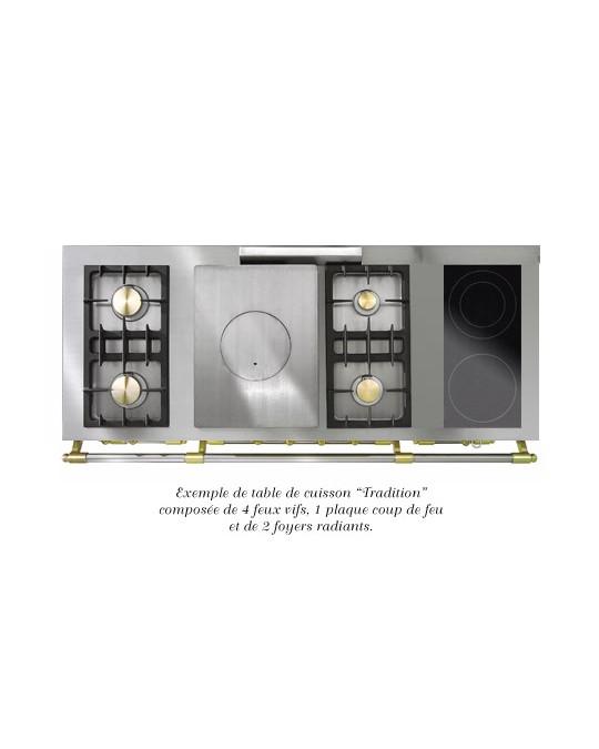 fourneau lacanche citeaux grande largeur 2 fours table de cuisson modulable bellynck et fils. Black Bedroom Furniture Sets. Home Design Ideas