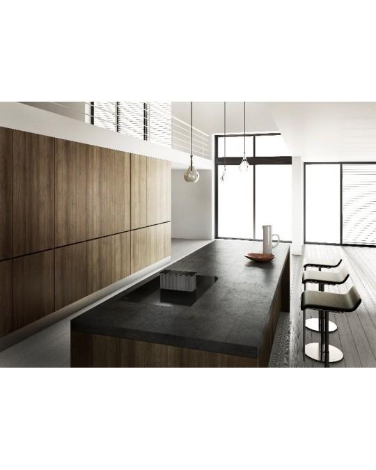 novy one table de cuisson induction avec hotte int gr e. Black Bedroom Furniture Sets. Home Design Ideas