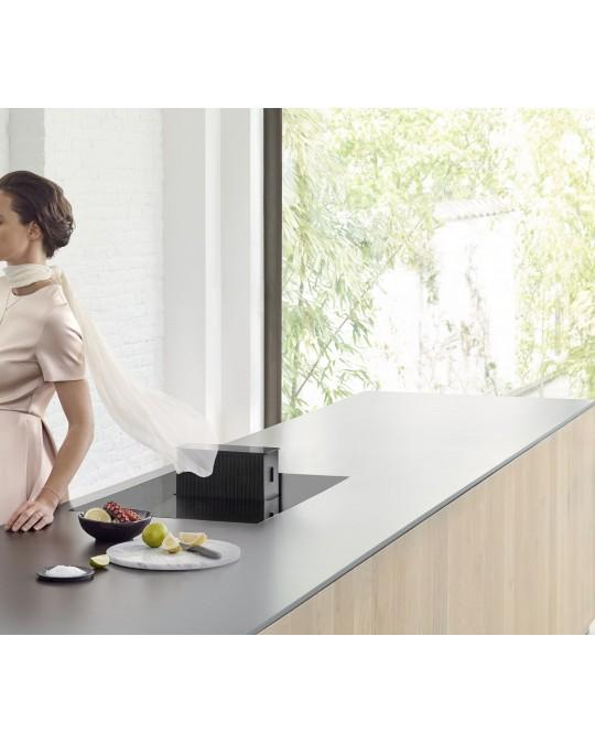 Cuisine Avec Table Intégrée: ONE Table De Cuisson Induction Avec Hotte Intégrée