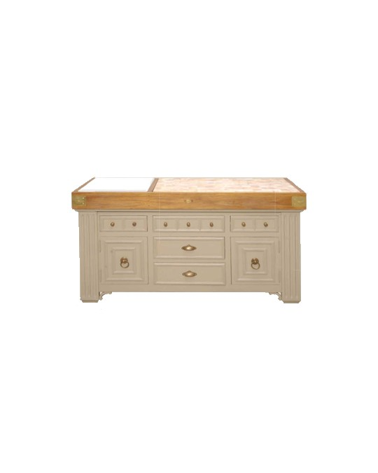 billot il ts bois de bout et plan en marbre am nagement int rieur tiroir et rangement de. Black Bedroom Furniture Sets. Home Design Ideas