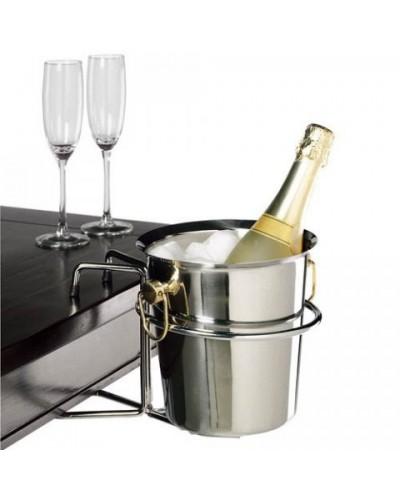 Porte Seau à Champagne Inox de table - Bellynck et Fils