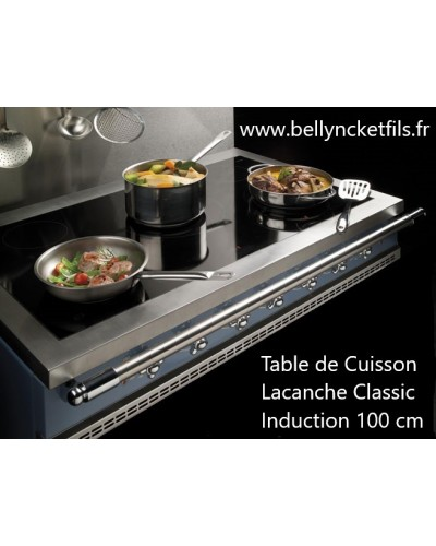 Table de cuisson Lacanche Classic 1000 - Bellynck et Fils