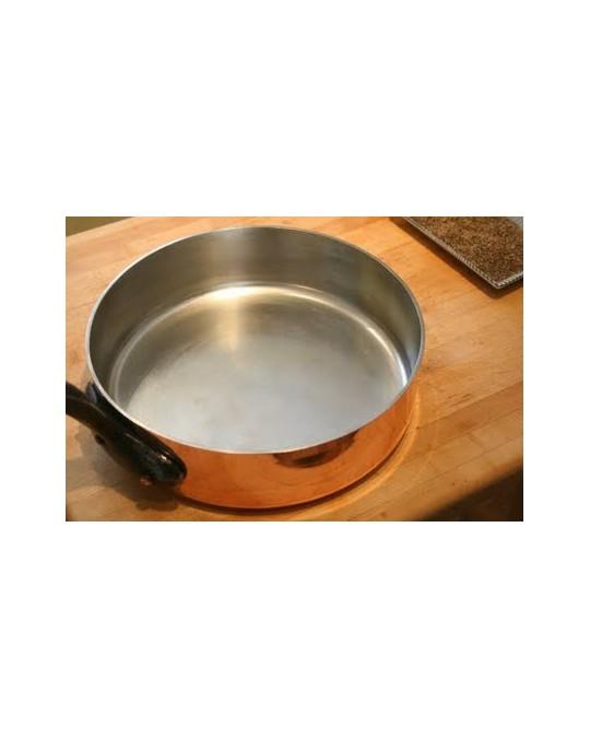 Etamage des ustensiles de cuisine en cuivre remise en tat - Ustensiles de cuisine en cuivre ...