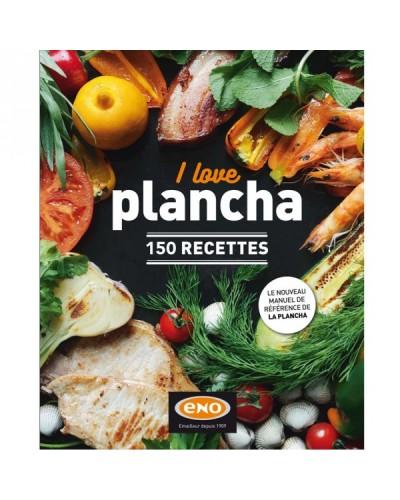 """LIVRE DE RECETTES A LA PLANCHA """"I LOVE PLANCHA"""""""