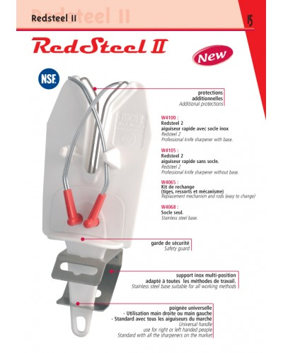 AIGUISEUR RAPIDE RED STEEL II